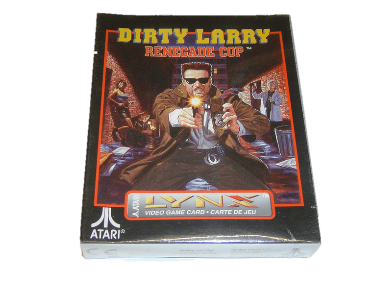 Dirty larry atari lynx