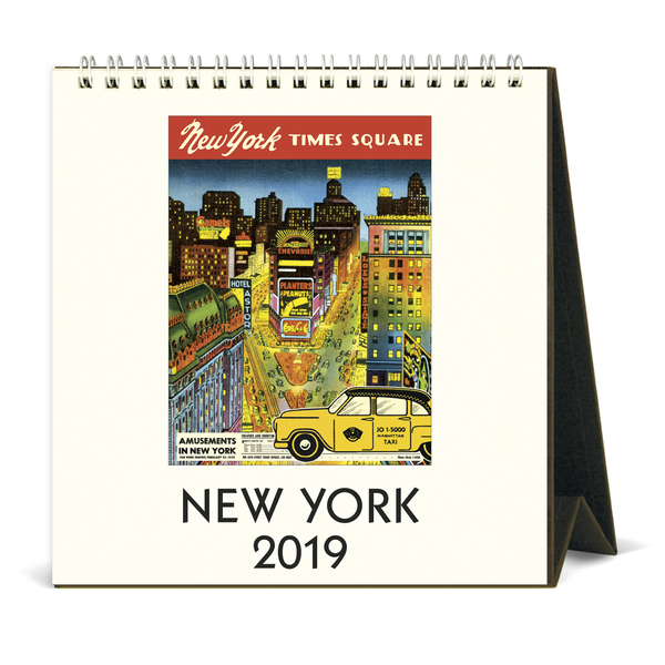 Cavallini Papers & Co. New York Calendar Desk Calendar, Multi...