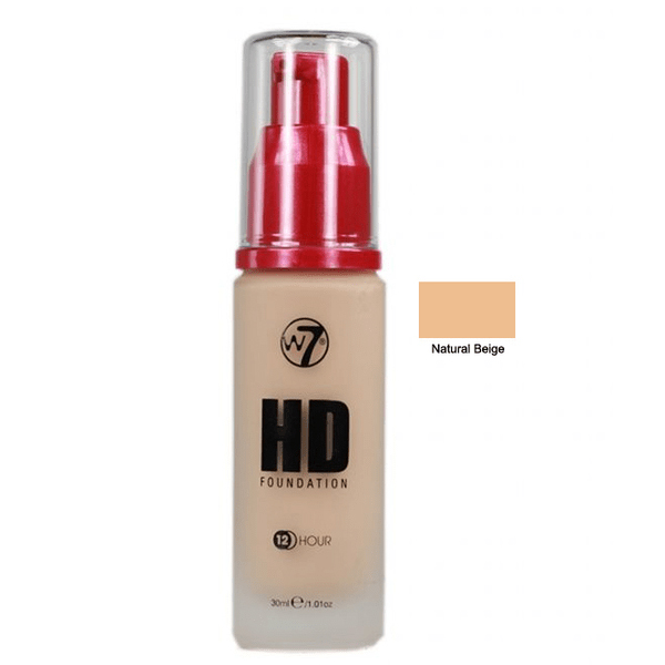 W7 hight defition foundation – natural beige