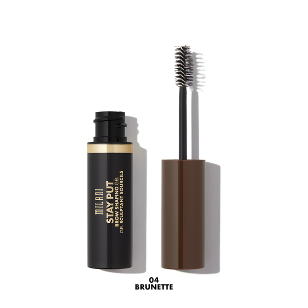 Milani stay put brow shaping gel – 04 brunette