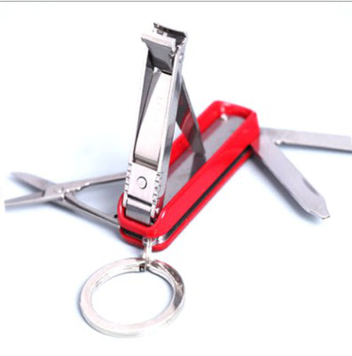 5 in 1 portable multi function tool knife toe nail clippers
