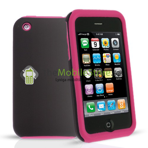 Combo skal till apple iphone 3gs (magenta)