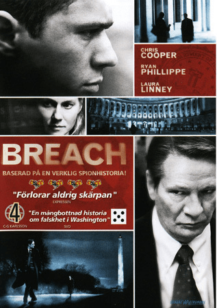 Breach (dvd) thriller med aaron abrams
