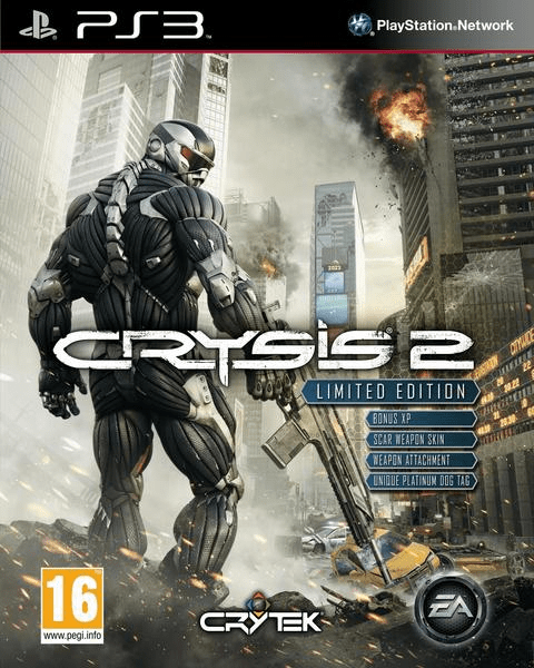crysis 2 – limited edition – ps3