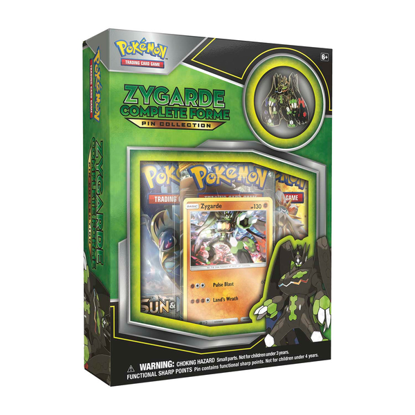 Pokemon TCG  Zygarde Complete Forme - Pin Collection Box