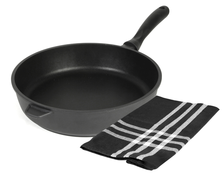 No1 exxent sautespanneset 28 cm black induction 1 st kökshandduk