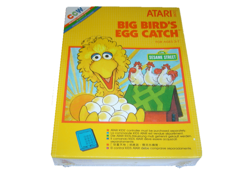 Big birds egg catch atari 2600