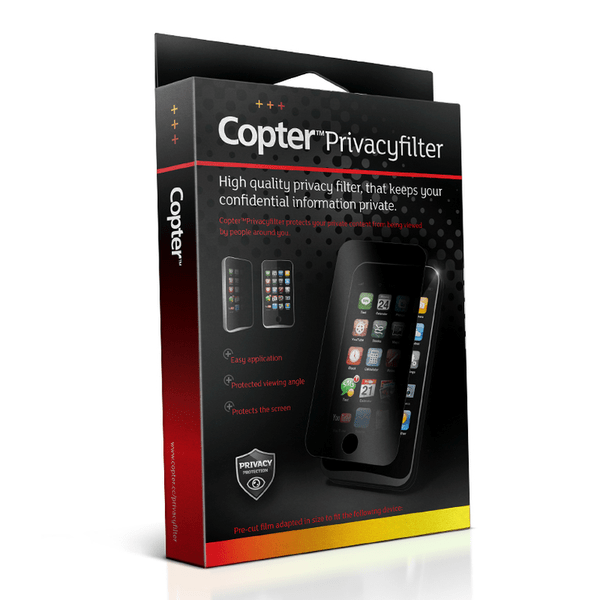 Copter privacyfilter – sol & insynsskydd sony xperia z1