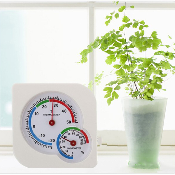 A7 gourd shaped indoor mini desk thermometer wet hygrometer