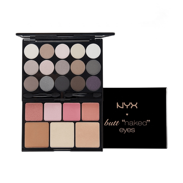 Butt naked s122 eyes palette by nyx