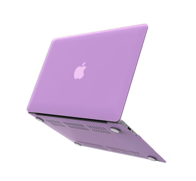Macbook air 13 skal – lila (2018-2019)