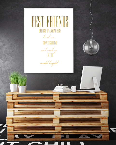 Poster - - - Best Friends No.1 30x40cm 764f8e