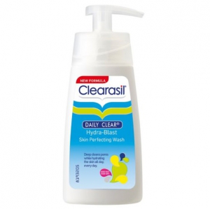 Clearasil daily clear hydra-blast skin perfecting wash