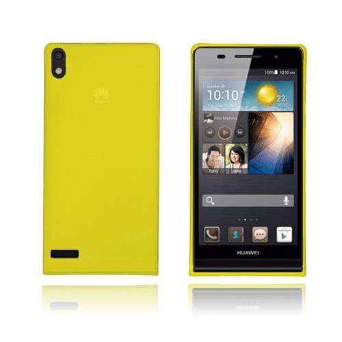 Slimcase (gul) huawei ascend p6 skal