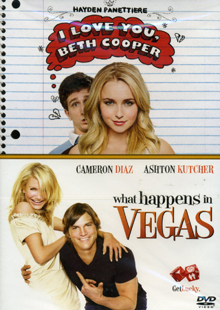 I love you beth cooper / what happens in vegas (2-disc) -dvd