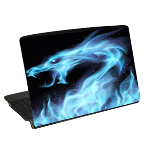 Laptop skin blue dragon dekor