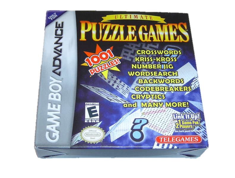 Puzzle games nintendo gameboy advance gba