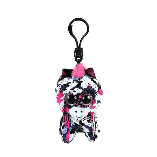Ty Flippable Sequins Zoey Key Clip
