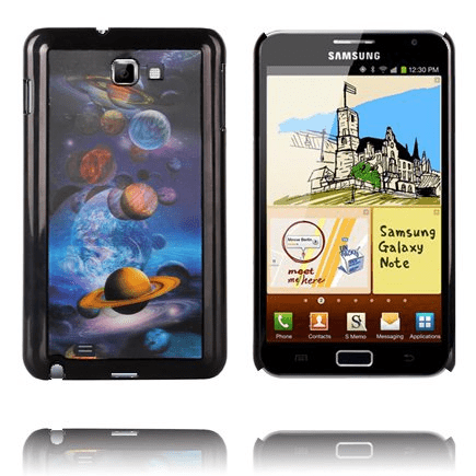 3d effect (planeter) samsung galaxy note skal