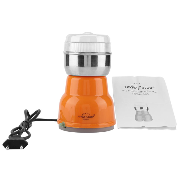 Electric coffee bean grinder household nuts grains beans her