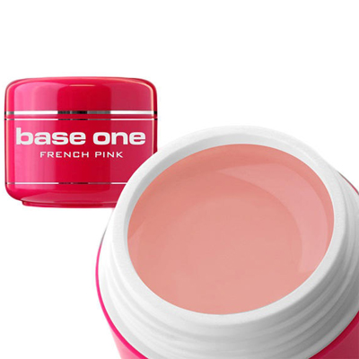 Base one – builder – french pink – 15 gram – silcare