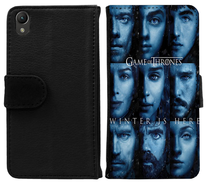 Sony xperia z1 plånboksfodral game of thrones