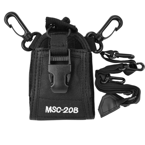 portable nylon shoulder strap belt case holder bag pouch