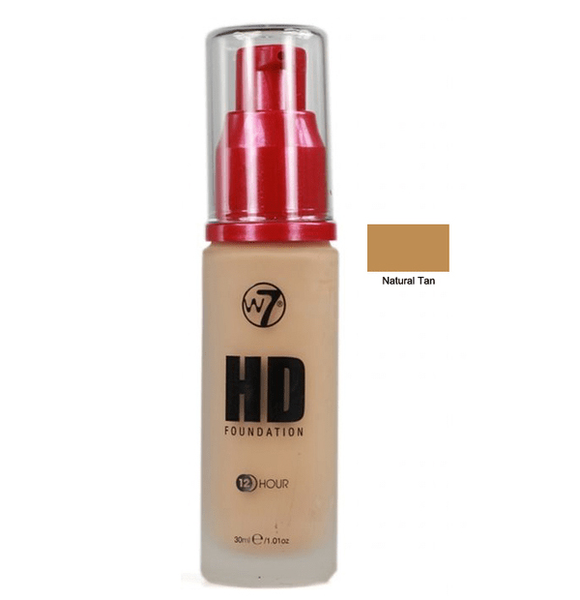W7 hight defition foundation – natural tan