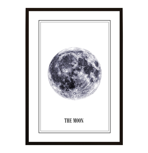 Poster - The Moon 40x50cm