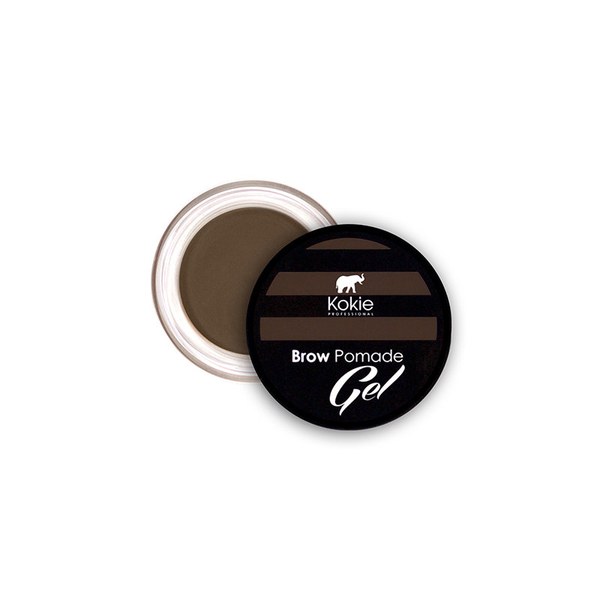 Kokie eyebrow pomade gel – medium brunette