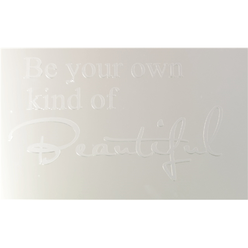 Be your own own own kind of Beautiful.. Spegeldekor 50ec3e