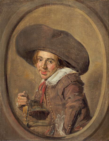 A Young Man in in in a Large Hat,Frans Hals,29.2x23.2cm 28b854