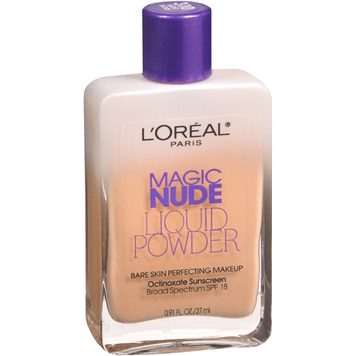 Loreal nude liquid bare skin perfecting makeup spf18-soft sable