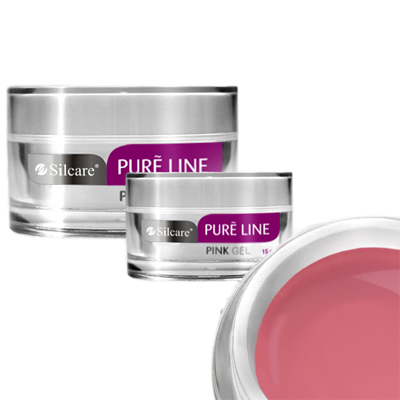 Pure line – builder – pink – 15 gram – silcare