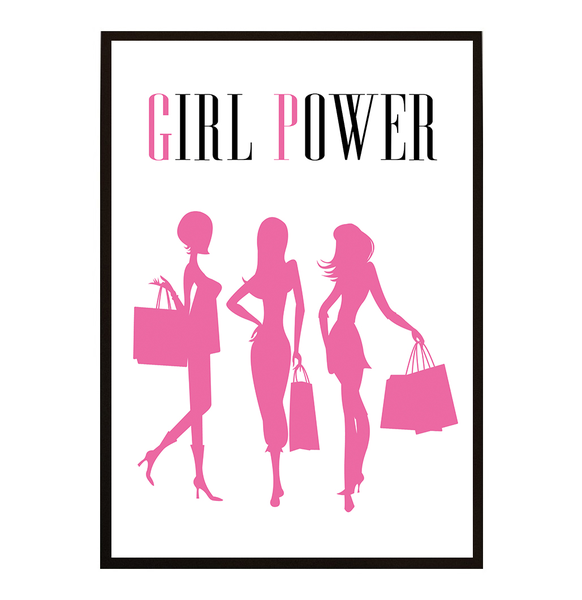 Poster - Sosa Girlpower No.2 A4 21x30cm