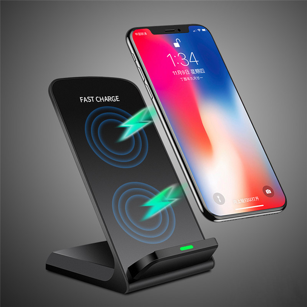 10W QI Fast Charger Wireless Charger Charging Stand for Samsung