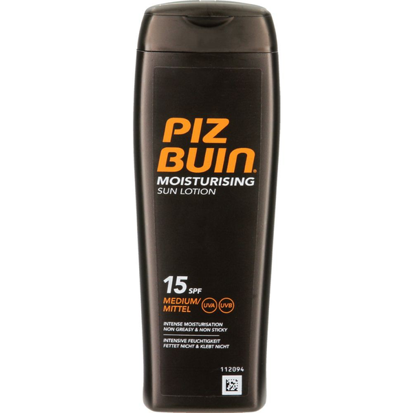 Piz buin moisturizing sun lotion spf15 200ml