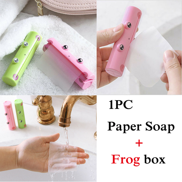 Soap tablets scented slice sheets paper soap travel portable