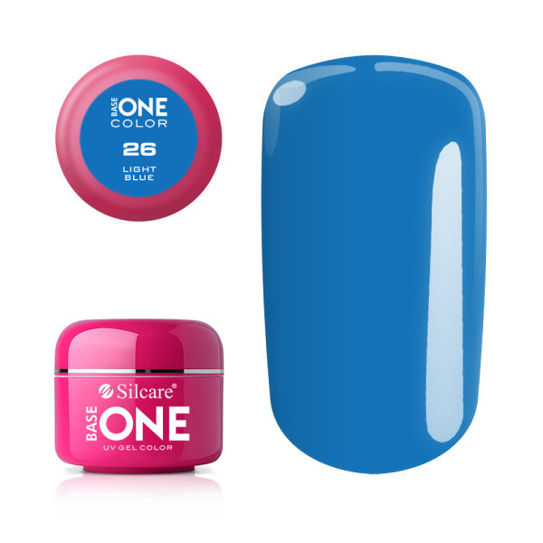 Base one – color – light blue 5g uv-gel