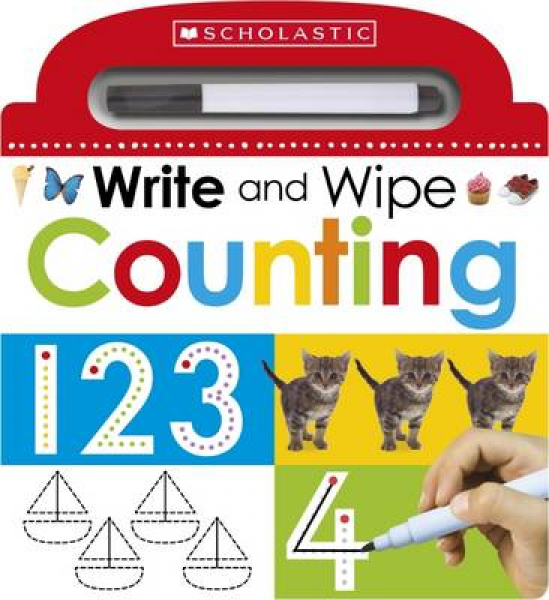 Write and wipe counting by make believe ideas