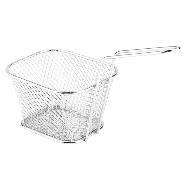 Mini stainless steel chips deep fry baskets food presentatio