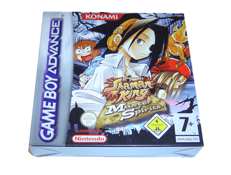 Shaman king 1 nintendo gameboy advance gba