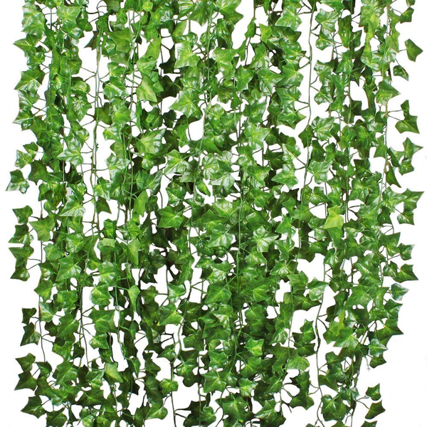 Simulation green leaves plant vines artificial courtyard decor