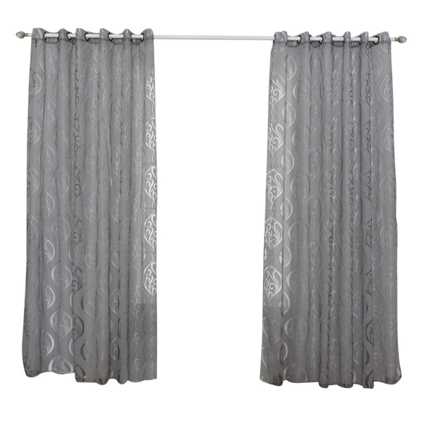 Window treatments living room divider sheer voile curtain