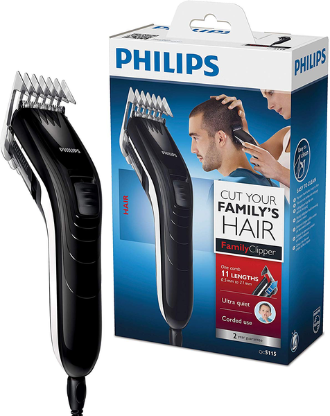 Hair trimmer series 3000 11 length settings and mains operation