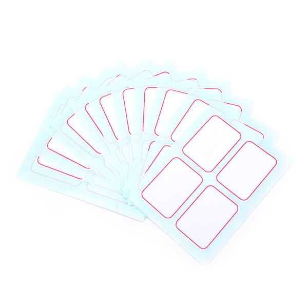 12pcs huge self adhesive sticky label writable name stickers bla