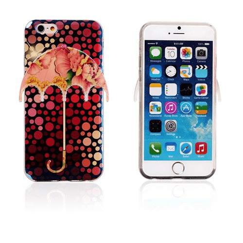 3d umbrella (prickar & pion) iphone 6 skal