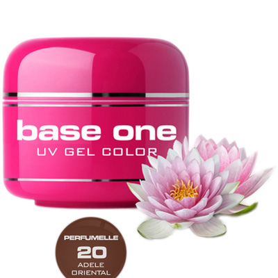Base one – uv gel – perfumelle – adele oriental – 20 – 5 gram