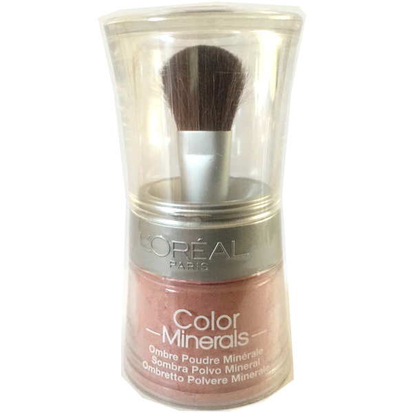 L'oreal color minerals eye shadow loose powder – icy ruby