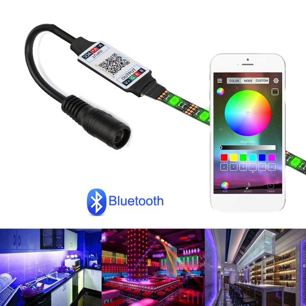 Rgb controller led light strip bluetooth adapter